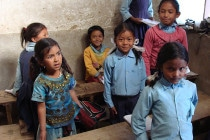 Also the schools in Nepal are usually still in a very bad condition.