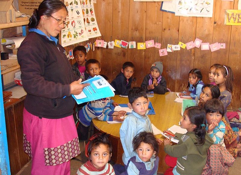 Zu dem Programm gehören auch viele Vorschulen, ein Kinderhaus und drei Gesundheitszentren.