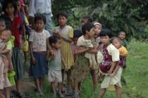 In den Stammesgebieten Nordostindiens können viele Kindern nicht zur Schule zu gehen