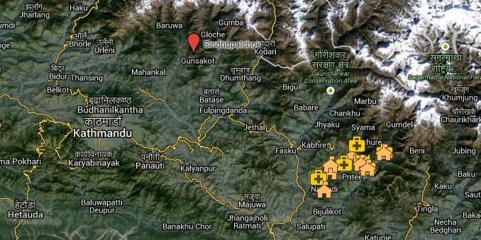 nepal-karte-sindhupalchok