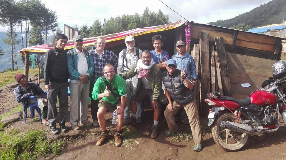 Nepal-Bhandar-Erdbeben-Bestandsaufnahme