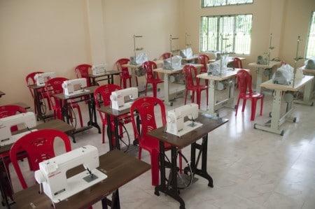 Childaid-Network-neues-Bildungszentrum-Barpeta-Road-innenraum