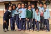 Schüler in Nepal am Great Himalaya Trail