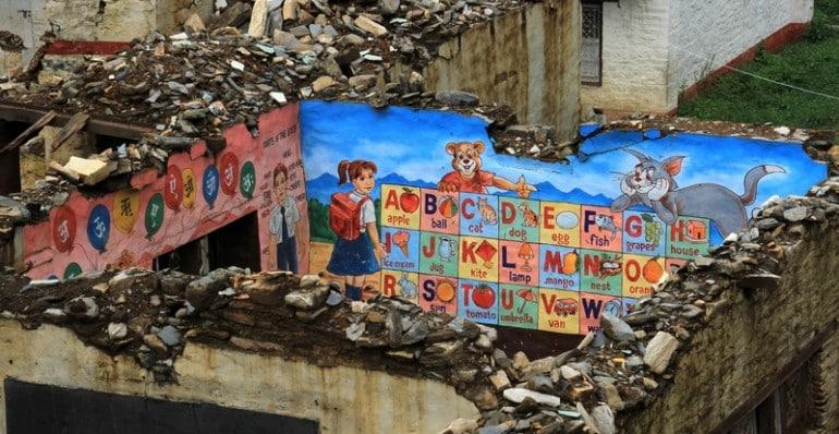 Rasnalu Erdbeben Nepal Wiederaufbau