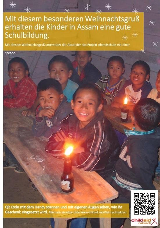 Childaid_Weihnachtsgruß_Assam
