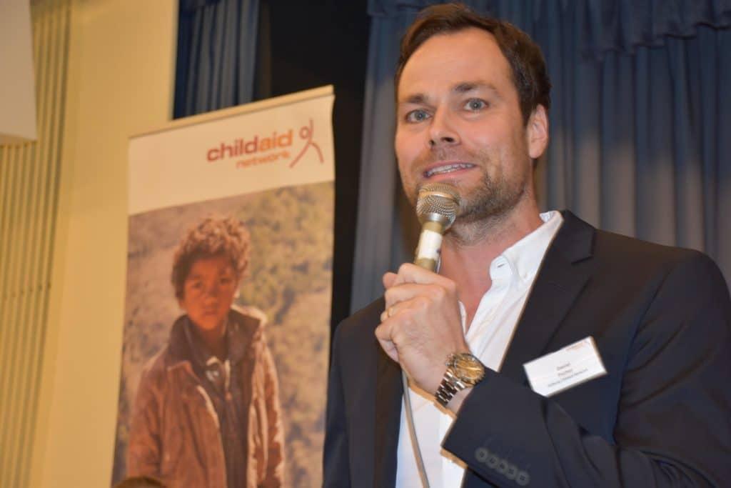 Projektabend Childaid Network moderiert von Daniel Fischer