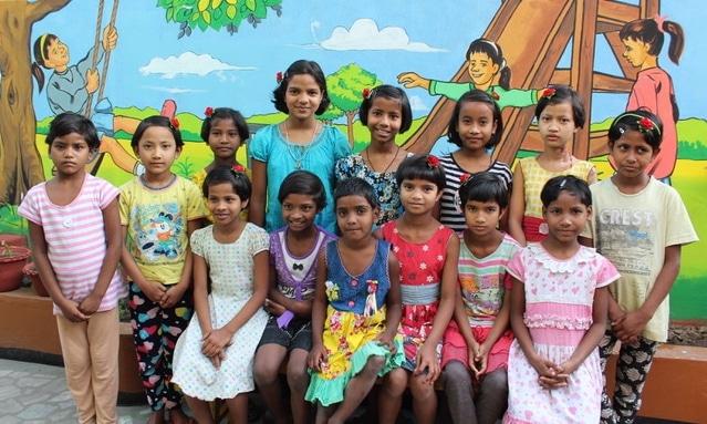 Straßenkinder im Snehalaya Zentrum