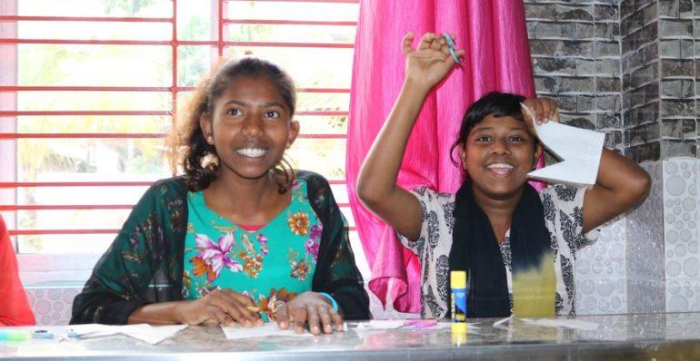 Snehalya Mädchen in Guwahati
