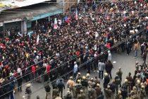 Protestmärsche Assam