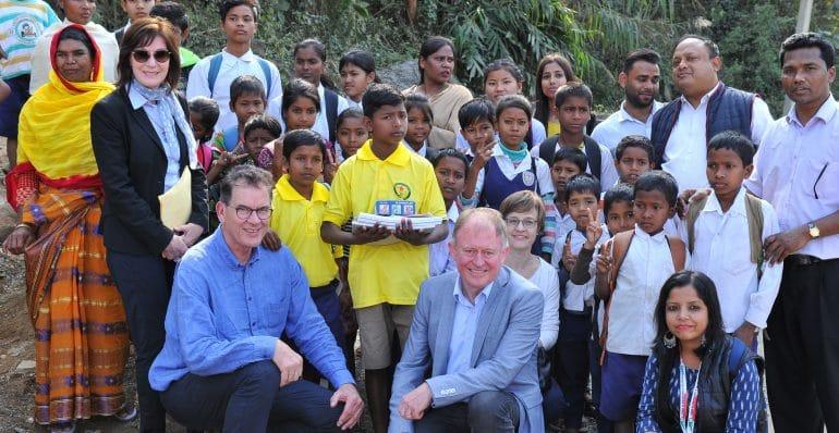 Dr. Gerd Müller visits children's rights project