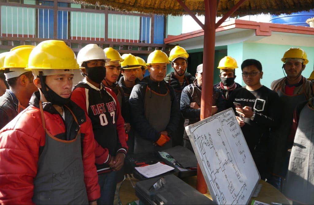 Mobile Ausbildungszentren Nepal