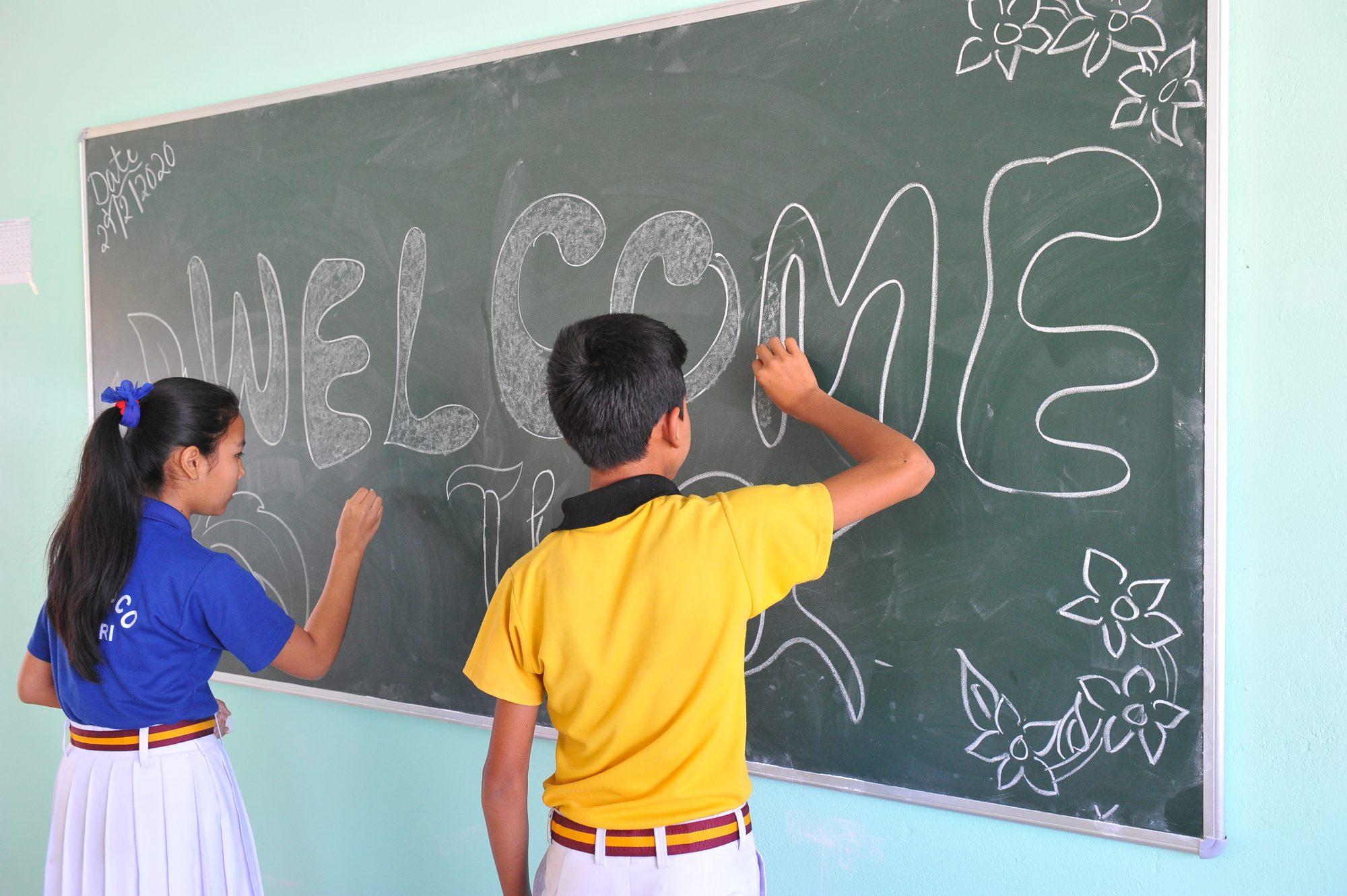 Amguri Schüler