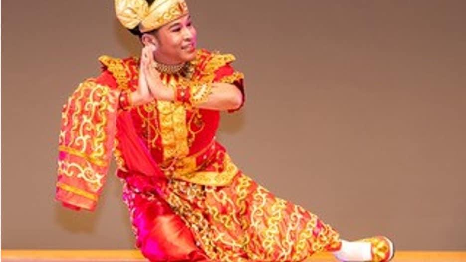 Tänzer Myanmar
